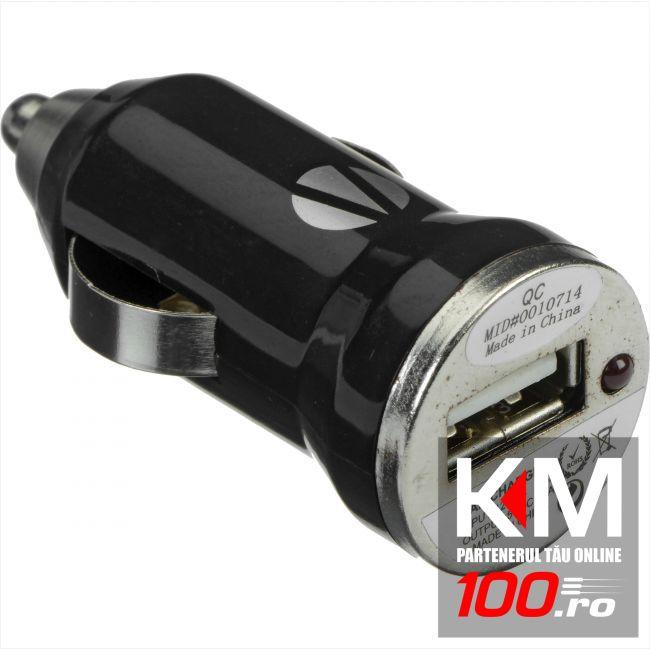 Incarcator USB pentru masina cu mufa bricheta