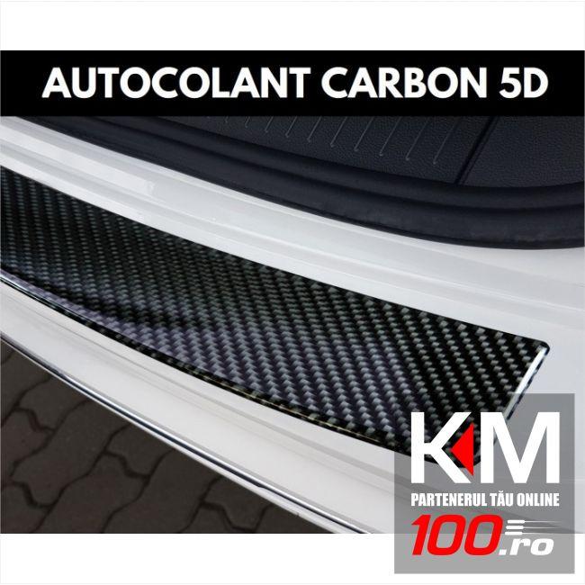 Protectie portbagaj din autocolant Carbon 5D Lăcuit (83 x 5,5cm)